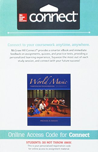 9781259434051: Connect Access Card for World Music: Traditions and Transformations