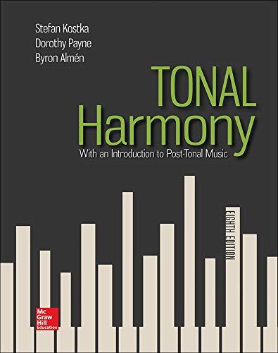 9781259447099: Tonal Harmony