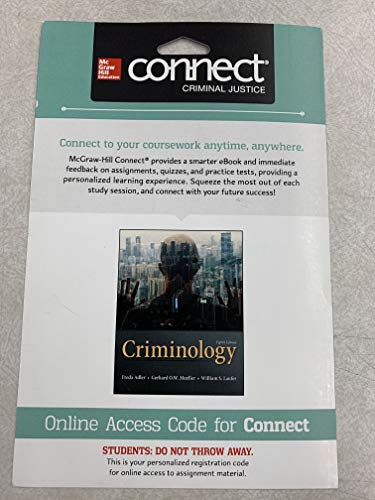 9781259448614: Connect Access Card for Criminology