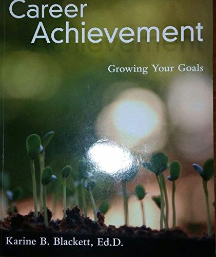 9781259532863: Career Achievement Growing Your Goals