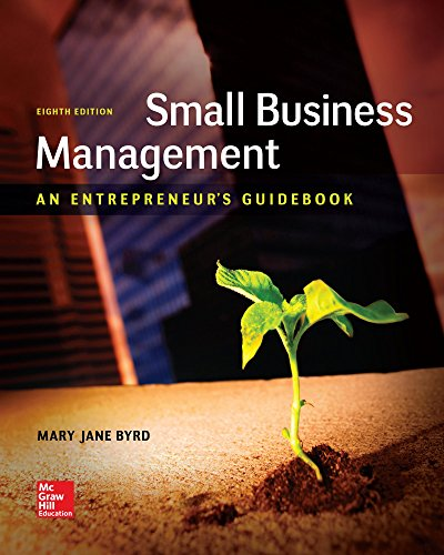 9781259538988: Small Business Management: An Entrepreneur's Guidebook