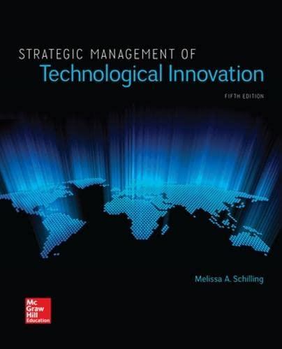 9781259539060: Strategic Management of Technological Innovation (Irwin Management)