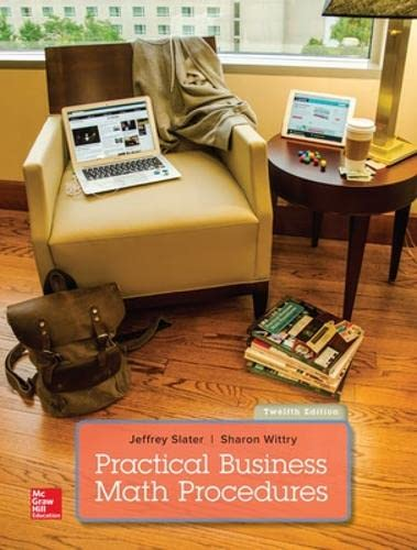 9781259540554: Practical Business Math Procedures