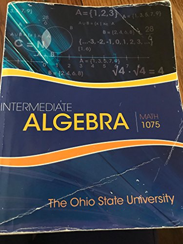 9781259541650: Intermediate Algebra: Math 1075