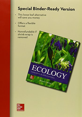 9781259541704: Loose Leaf Ecology: Concepts and Applications with Connect Access Card