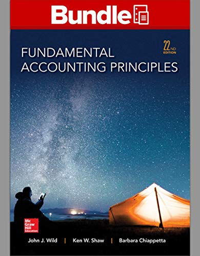 9781259542169: Loose Leaf for Fundamentals of Accounting Principles and Connect Access Card