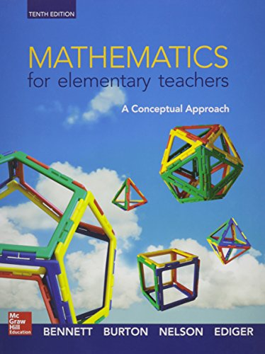 9781259542190: Mathematics for Elementary Teachers: A Conceptual Approach with An Activity Approach and Manipulative Kit