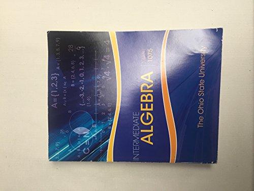 9781259542978: Intermediate Algebra, Math 1075, The Ohio State University