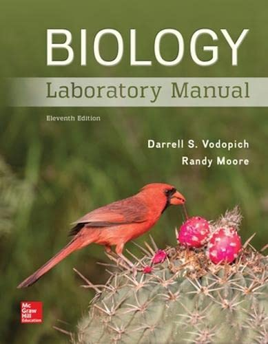 9781259544873: Biology Laboratory Manual