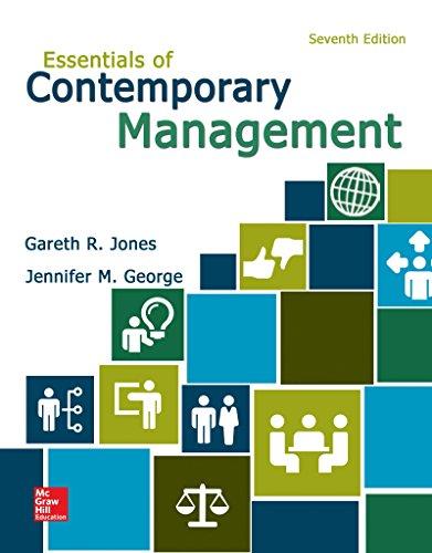Essen of Contemporary Management: Jones