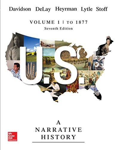9781259546181: US: A NARRATIVE HISTORY VOLUME 1 w/ Connect Access Card 1T AC