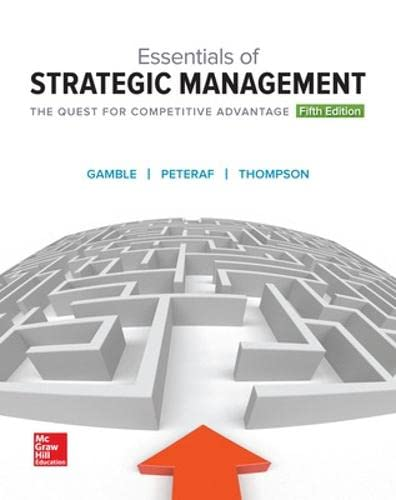 9781259546983: Essentials of Strategic Management: The Quest for Competitive Advantage
