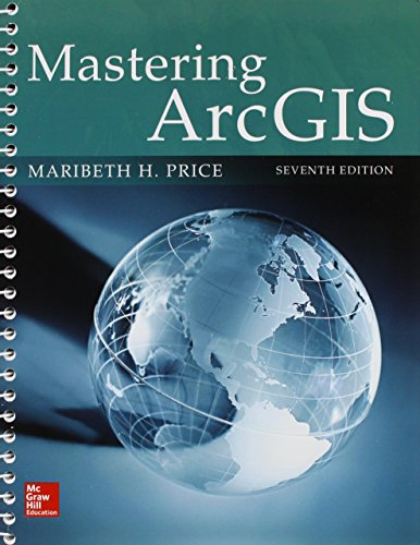 9781259547317: Combo: Mastering ArcGIS with Connect Access Card One Semester Access Card
