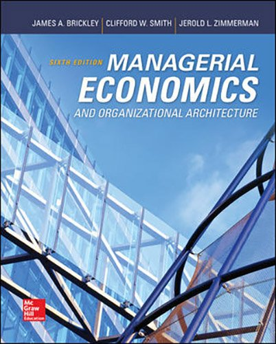 9781259547836: Managerial Economics & Organizational Architecture with Connect Access Card with LearnSmart Access Card