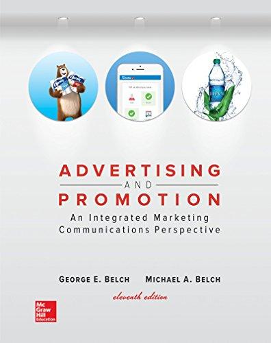 9781259548147: Advertising and Promotion: An Integrated Marketing Communications Perspective (Irwin Marketing)