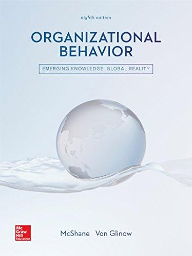 9781259562792: Organizational Behavior
