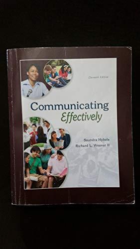 9781259563454: Communicating Effectively