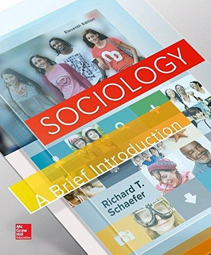 9781259563546: Sociology: A Brief Introduction - Custom for Fortis College