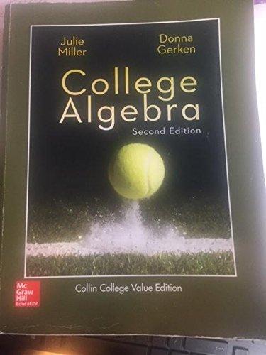 College Algebra ANNOTATED INSTRUCTOR'S EDITION: Miller/Gerken