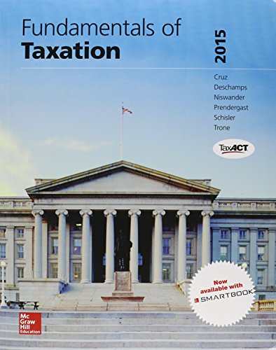 9781259570674: Fundamentals of Taxation 2015 w/TaxAct; Connect Accounting