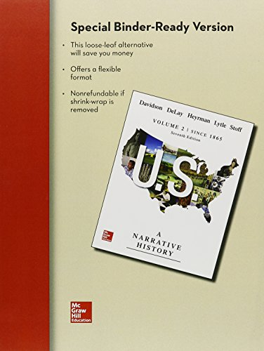 LL US: A Narrative History Volume 2: James West Davidson;