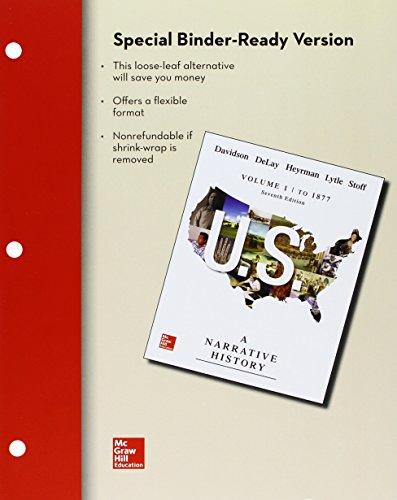 LL US: A Narrative History Volume 1: James West Davidson;