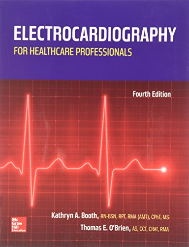 9781259575181: Electrocardiography for Healthcare Professionals with 2 Semester Access Card