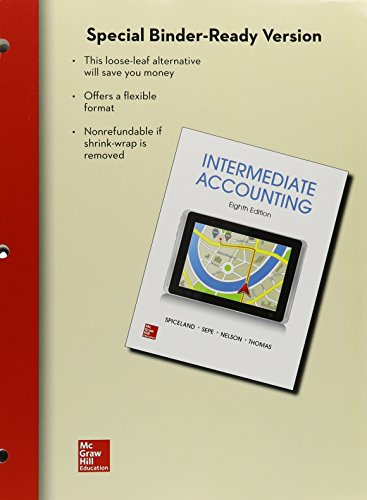 9781259576584: Loose Leaf Intermediate Accounting w/Annual Report;Connect Access Card; ALEKS 18 Weeks