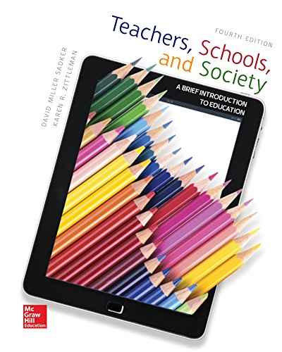 9781259578649: Teachers, Schools, and Society with Connect Access Card