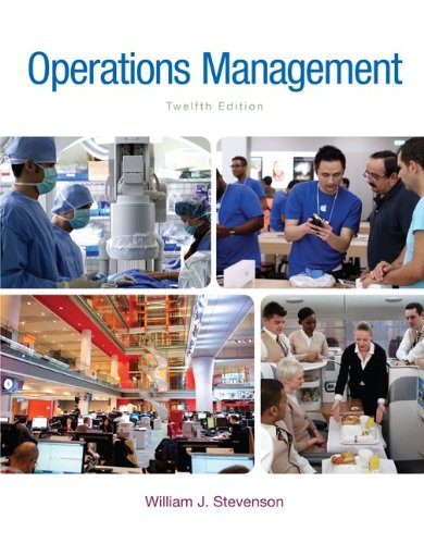 Loose-leaf for Operations Management (The Mcgraw-Hill Series: Stevenson, William J