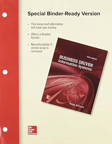 9781259582233: LOOSE LEAF BUSINESS DRIVEN INFORMATION SYSTEMS