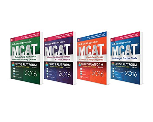 McGraw-Hill Education MCAT 2016 Value Pack: George Hademenos