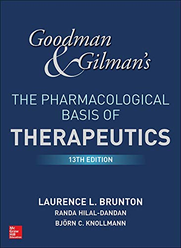 9781259584732: Goodman and Gilman's the Pharmacological Basis of Therapeutics, 13th Edition [Lingua inglese]