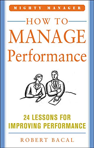 9781259584794: How to Manage Performance (POD)