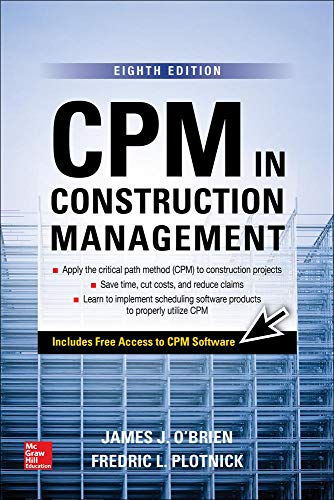 9781259587276: CPM in Construction Management, Eighth Edition