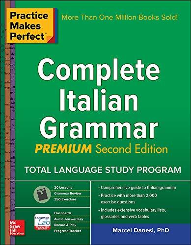 9781259587726: Practice Makes Perfect: Complete Italian Grammar, Premium Second Edition
