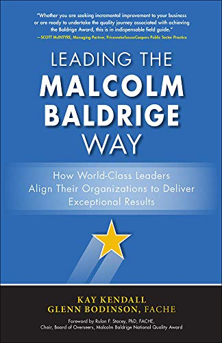 9781259588662: Leading the Malcolm Baldrige Way: How World-Class Leaders Align Their Organizations to Deliver Exceptional Results