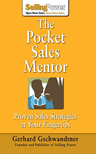 9781259589423: The Pocket Sales Mentor: Proven Sales Strategies at Your Fingertips