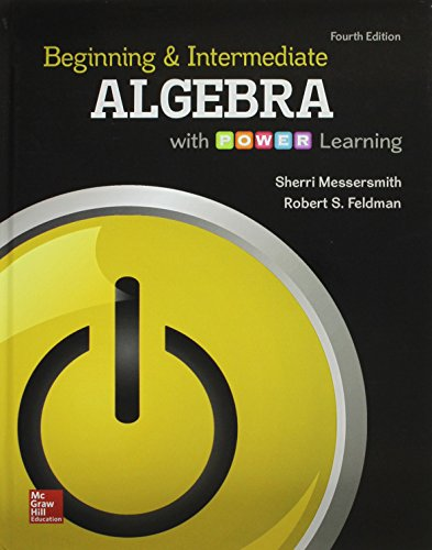 9781259590078: Beginning and Intermediate Algebra with P.O.W.E.R. Learning and Connect Math Hosted by ALEKS Access Card