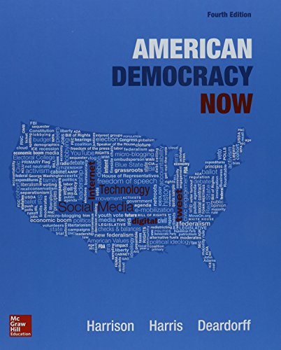 9781259593154: American Democracy Now with Connect Access Card