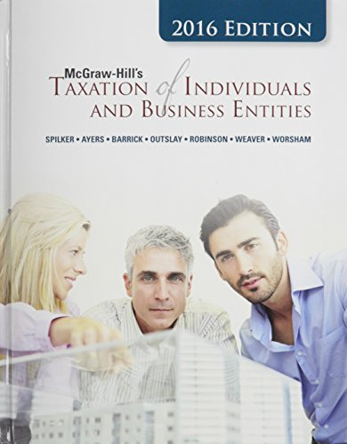9781259602146: McGraw-Hill's Taxation of Individuals and Business Entities with Connect