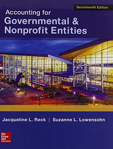 9781259602153: Accounting for Governmental & Nonprofit Entities w/Connect