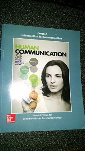 9781259602719: Human Communication