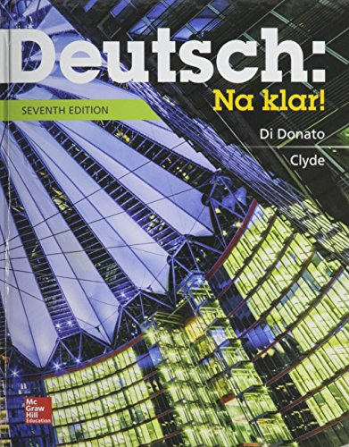 9781259604850: Deutsch: Na Klar! an Introductory German Course, Student Edition with Connect Access Card