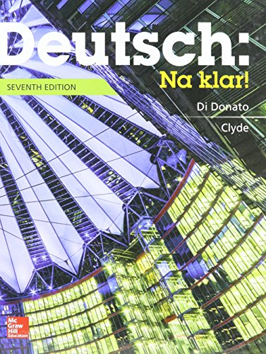 9781259604874: Deutsch: Na klar! An Introductory German Course (Student Edition) with Workbook/Lab Manual
