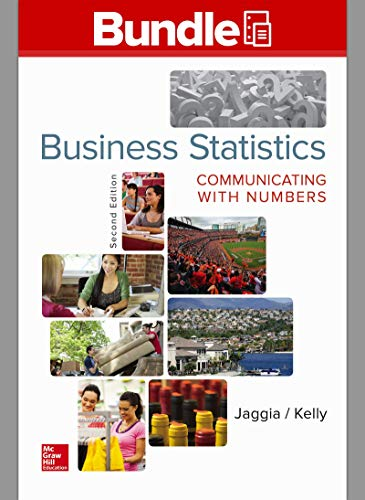9781259605147: Loose Leaf Business Statistics: Communicating with Numbers with Connect