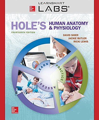 9781259616365: Connect with LearnSmart Labs Access Card for Hole's Human Anatomy & Physiology