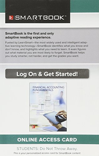 9781259618024: Smartbook Access Card for Financial Accounting Fundamentals