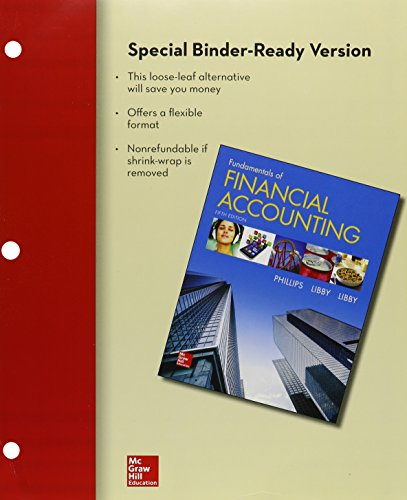 9781259619007: Loose-leaf for Fundamentals of Financial Accounting with Connect