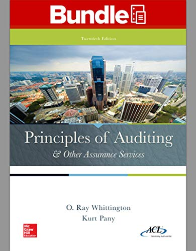 9781259619038: Loose-Leaf for Principles of Auditing & Other Assurance Services with Connect